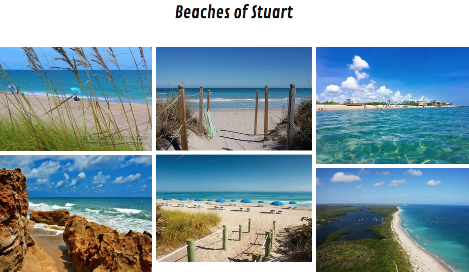 The Beaches of Stuart are so beautiful